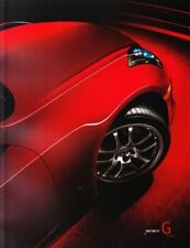 2007  07 Infiniti G Coupe  Original sales brochure