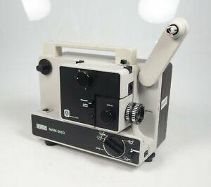 EUMIG MARK 605 D NORMAL 8 UND SUPER 8 FILMPROJEKTOR - NEUER RIEMEN -- TOPZUSTAND