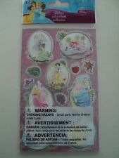 DISNEY PRINCESS 3D STICKERS BY SANDY LION BNIP *LOOK*
