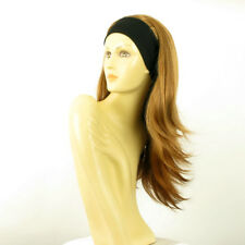 headband wig woman long dark blond  copper ref: BENEDICTE g27