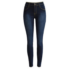 Fashion Women High Waisted Stretchy Leggings Slim Pencil Pants Trousers Jeggings