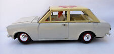 Vintage Handmade Tin Datsun 1000 Solpa Greek Asahi Copy Box NOS Battery Operated