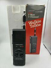 Realistic TRC-219 Walkie Talkie 3 Channel CB Radio Vtg 1980s ( Stranger Things )