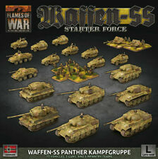 Flames of War: Waffen-SS Panther Kampfgruppe 1/100 Scale Plastic Miniature Set (GEAB19)