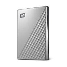 WD 4TB My Passport Ultra Silver Portable External Hard Drive, WDBFTM0040BSL-WESN