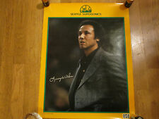 1981 SEATTLE SUPERSONICS LENNY WILKENS POSTER-