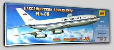 ILYUSHIN IL-86 CIVIL AIRLINER ZVEZDA 1/144 PLASTIC KIT