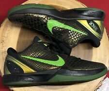 Nike Zoom Kobe VI 6 Supreme Rice Moss Green Apple Black Grinch Chaos Sz 12