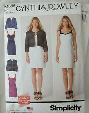 CYNTHIA ROWLEY Sewing Pattern K1688 H5 size  UK 10-18, US 6-14  New Uncut