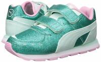 PUMA Girls' Vista Glitz V Sneaker, Pink, Size 3.0 hF8n