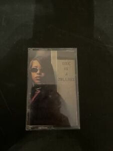 Aaliyah ONE IN A MILLION Cassette Tape RARE!