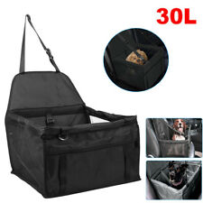 More details for travel folding dog cat pet puppy car carrier seat side bag safety bag belt cover
