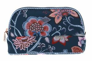 Oilily Royal Sits Cosmetic Bag S Kosmetiktasche Tasche Ensign Blue Blau Rosa Neu