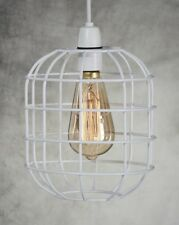 Retro Style Easy Fit Metal Pendant Cage Light Shade Funky Modern Rustic INDUSTR