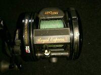 ABU GARCIA AMBASSADEUR FISHING REEL - ROYAL EXPRESS II -Fast cast-Ratio-6.3:1