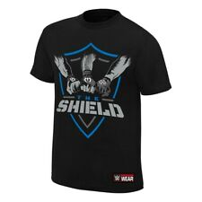 The Shield Hands In United WWE Authentic Mens Black T-shirt