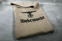 Jutesack Sack vintage Wehrmacht Reichsadler Adler WK DR Repro Deko EK