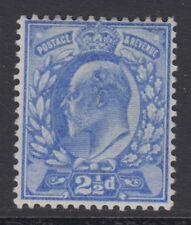 SG 230 2 1/2 d Deep Ultramarine m16 (1) in fine and Fresh Mounted Comme neuf CONDITION