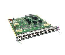 Cisco Catalyst WS-X6348 6000/6500 Series Ethernet Switch 48-Port (RJ45) 10/100
