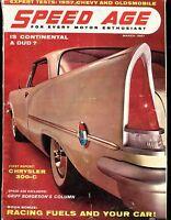 Speed Age Magazine March 1957 Chrysler 300-C VG No ML 011117jhe