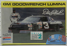 3 Goodwrench Dale Earnhardt Black Chevy Lumina Pit 90 Sealed Monogram Model Kit