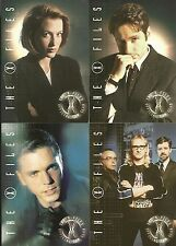 X-Files The Official Fan Club 4 Card Promo SET SD Comic Con Intl 2000 EXCLUSIVE