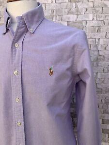 Ralph Lauren Lilac Regular Fit Shirt Size Medium Excellent Condition
