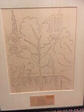 Henri Matisse original authentic 1947 etching Paris