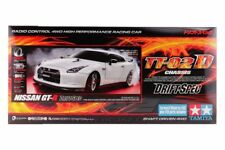 Tamiya 58623 1/10 EP RC Car Kit TT-02D Drift Chassis Nissan GT-R R35 w/ESC+LED