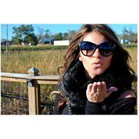 Large Oversized Designer Cat Eye Anoushka Women Sunglasses Thick Retro Frame