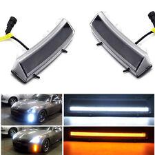 DRL FOR NISSAN 350Z LCI 2006-2009 LED DAYTIME RUNNING LIGHT FOG LAMP W/SIGNAL