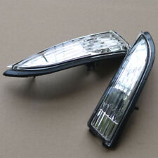 Side View Mirror Lamp Turn Signal Light Shell Pair Fit Ford Fiesta 2011-2017