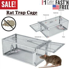 Rat Trap Cage Small Live Animal Pest Rodent Mouse Control Catch Hunting Trap Us