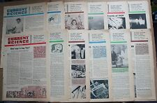 Lot 12 1959-60 Current Science and Aviation Weekly Newspapers