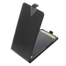 Funda para ZTE Blade A452 protectora Teléfono Móvil con tapa NEGRA