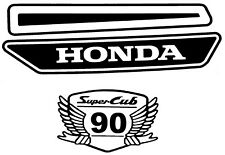 HONDA cub custom streetcub supercub C70 C90 C100  C140 C160 decals any colour