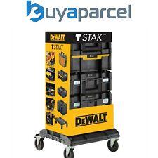 Dewalt DWST1-81048 Tstak Tour - Inclus 4 Étuis avec A Roulettes Chariot