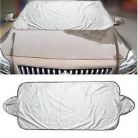 Housse Couverture Pare-Brise Voiture Auto Protection Soleil Neige 146x70cm