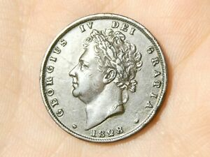 1828 Farthing George IV Nice collectable grade  #R102