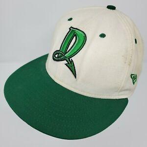 Vtg Dayton Dragons 59Fifty New Era MiLB Fitted Cap Hat Size 7 1/8