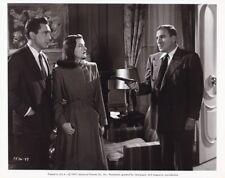 ELLA RAINES WILLIAM BENDIX Original Vintage THE WEB Universal Film Noir Photo