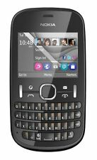 Nokia ASHA 201 Graphite Grigio QWERTY Cellulare Tastiera Senza SIM-lock