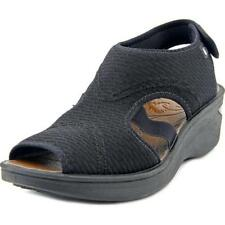 Calzado de mujer sandalias con tiras de lona talla 40.5