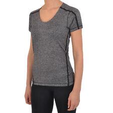 Reebok Crossfit Femmes Slim Fit Musculation T-shirt Course Athlétisme Haut Sport