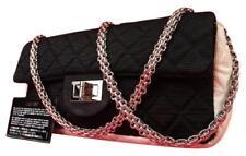 81ffdf26adab Chanel 2.55 Reissue Bicolor Quilted Flap Black X White Shoulder Bag Q219133