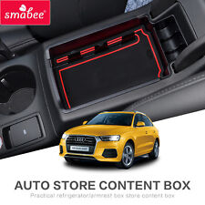 For AUDI Q3 2009to2017 Car Center Console Tray central armrest box