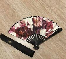 Lanvin fashion show VIP Floral Paper Fan