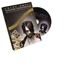Criss Angel Master Mindfreaks DVD Vol 6 teaches 13 magic tricks to perform chris