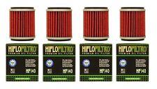 4 Pack HiFlo HF140 Oil Filters Yamaha WR 250 450 YZ 250 450 YFZ450 YFZ450 XT250