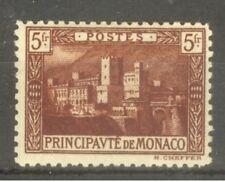 "MONACO STAMP TIMBRE N° 62 "" PALAIS PRINCIER 5F BRUN-ROUGE "" NEUF xx TTB"